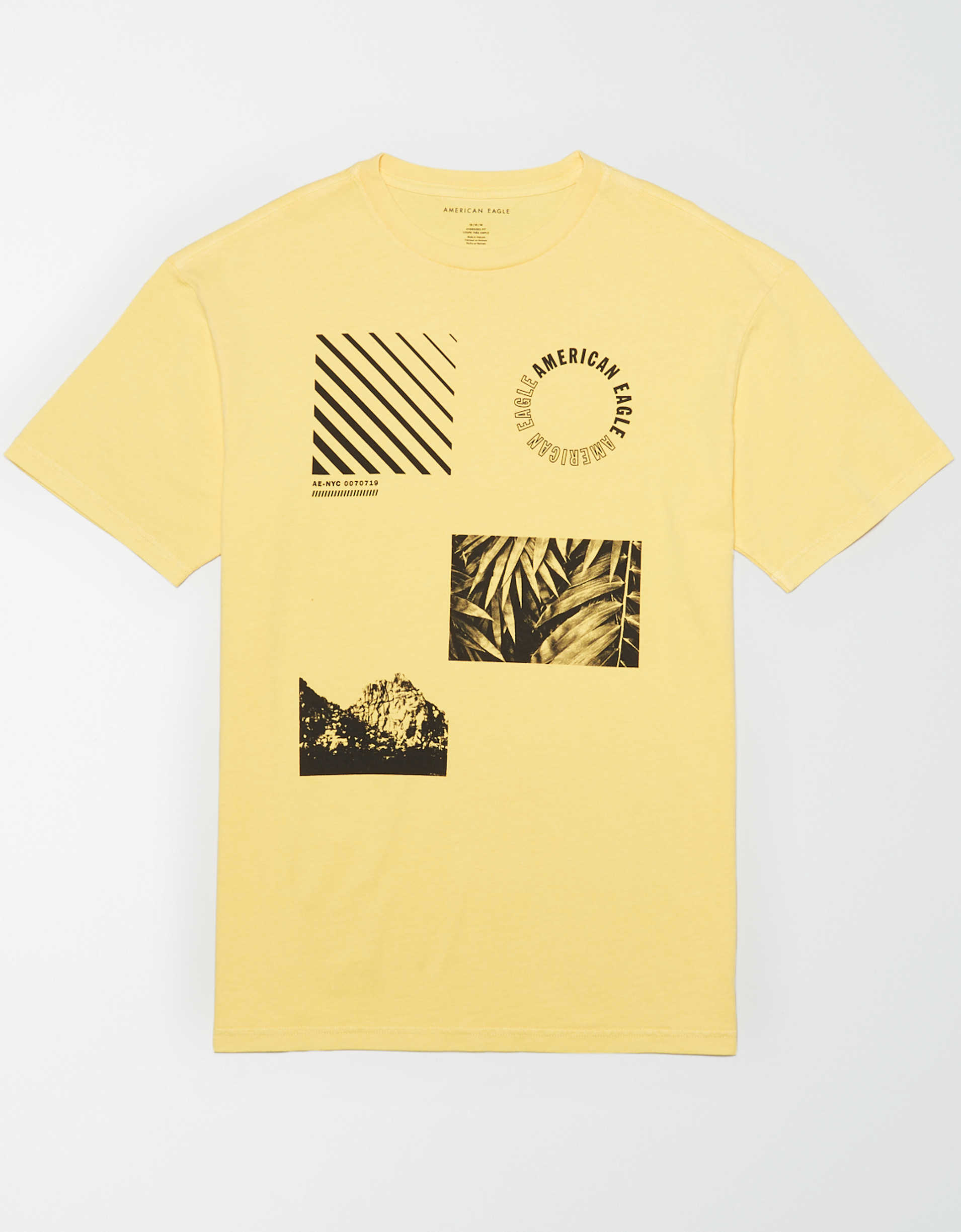 AE Drop-Shoulder Graphic T-Shirt