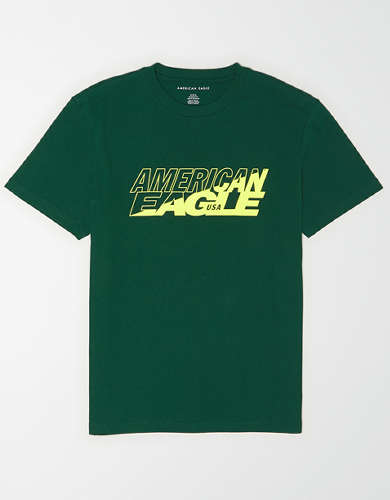 AE Glow-In-The-Dark Graphic T-Shirt