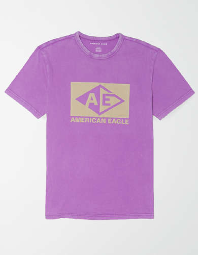 AE Flocked Graphic T-Shirt