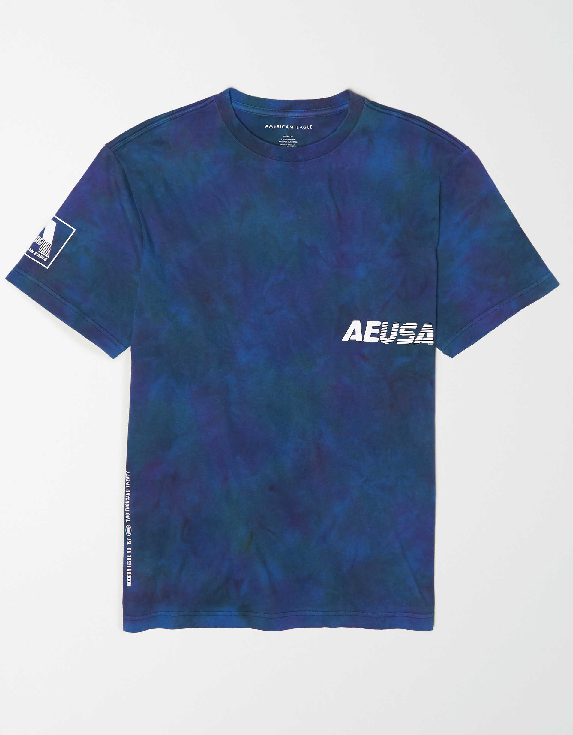 AE Short Sleeve Tie-Dye Graphic T-Shirt