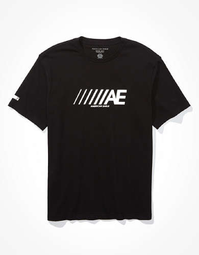 AE Short-Sleeve Reflective Graphic T-Shirt