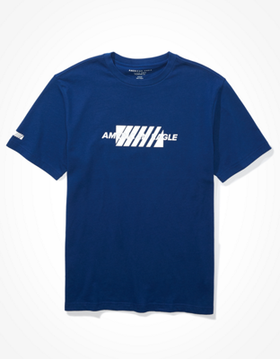 AE Short-Sleeve Reflective Graphic T-Shirt