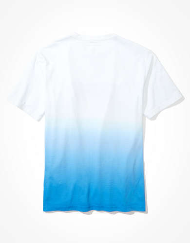 AE Short-Sleeve Dip-Dye Graphic T-Shirt