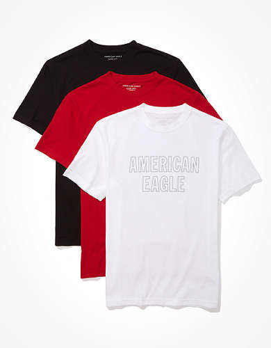 AE Super Soft Graphic T-Shirts 3-Pack