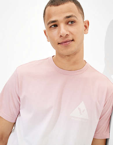 AE Dip-Dye Graphic T-Shirt