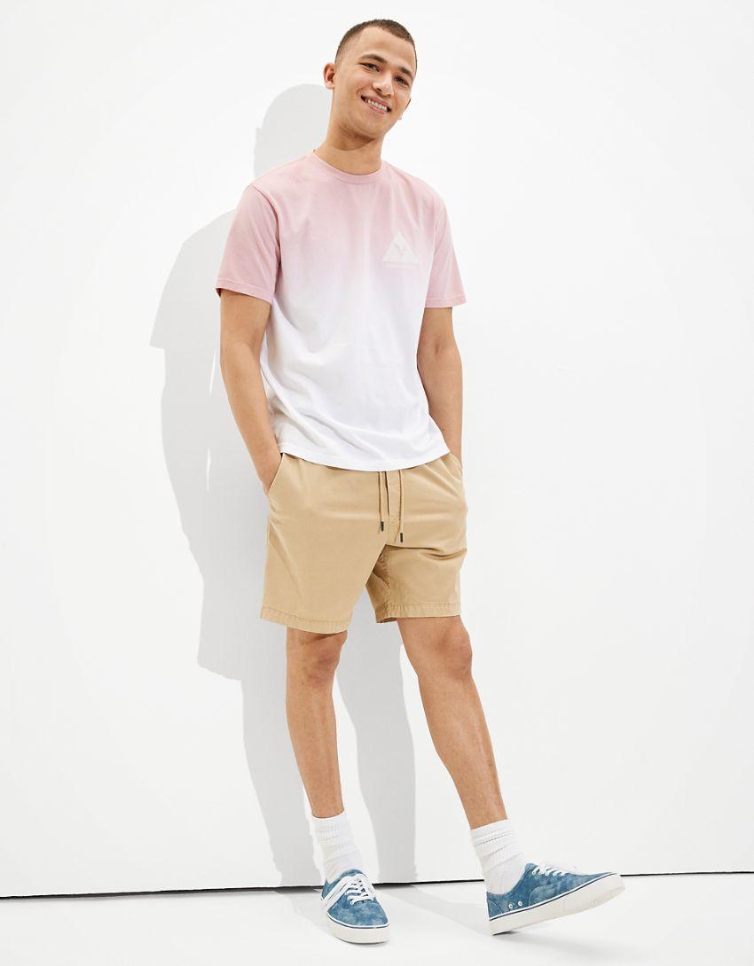 AE Dip-Dye Graphic T-Shirt