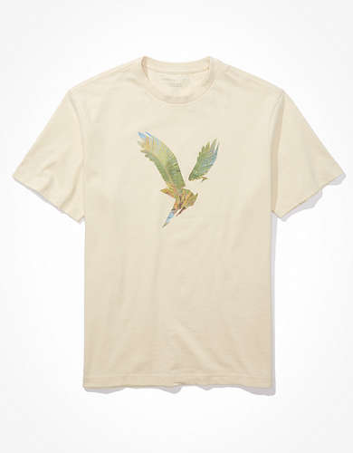 AE Super Soft Eagle Graphic T-Shirt