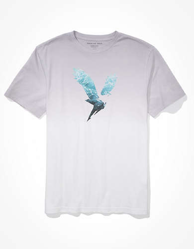 AE For Surfrider Dip-Dye Graphic T-Shirt