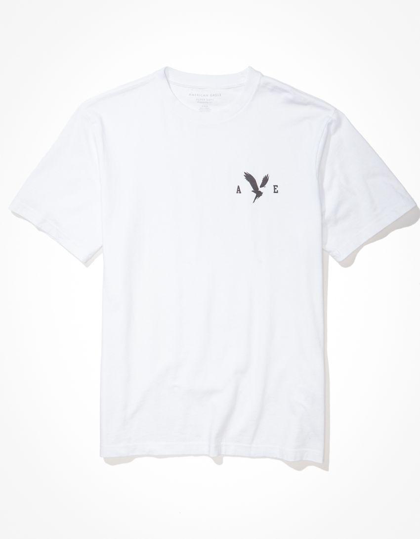 AE Super Soft Left Chest Graphic T-Shirt