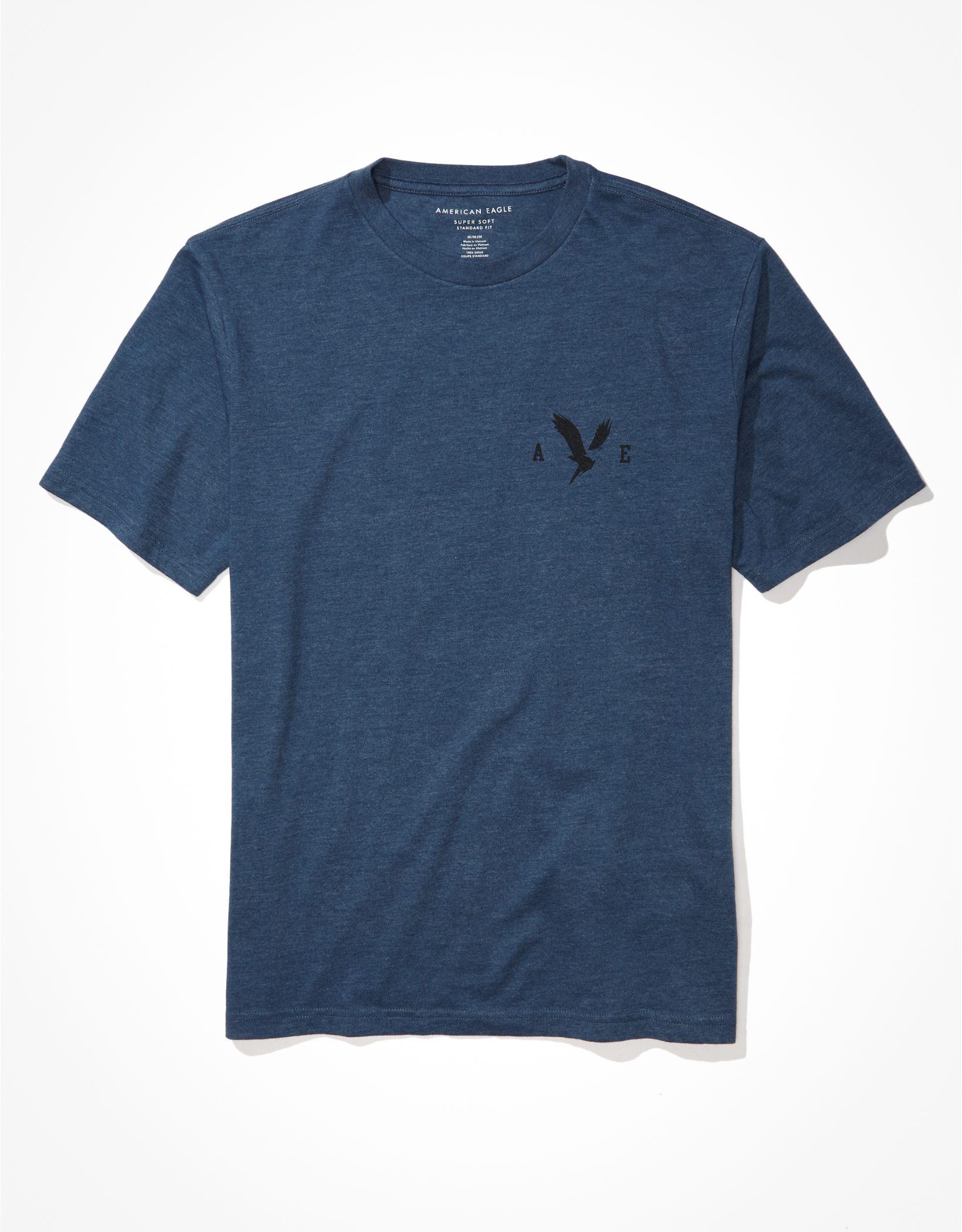 AE Super Soft Left Graphic T-Shirt