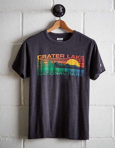 Tailgate Men's Crater Lake National Park T-Shirt - Free Returns