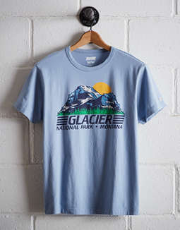 Tailgate Men's Glacier National Park T-Shirt