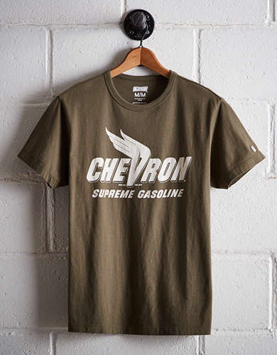 Tailgate Men's Chevron Gasoline T-Shirt - Free Returns