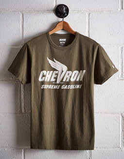 Tailgate Men's Chevron Gasoline T-Shirt