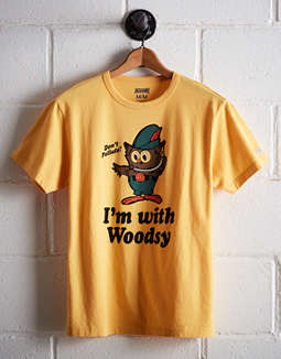 Tailgate Men's I'm With Woody T-Shirt