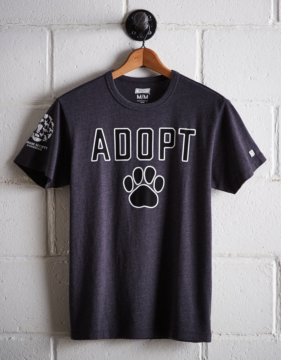 9e25f1e2568820 Tailgate Men s Humane Society Adopt T-Shirt. Placeholder image. Product  Image