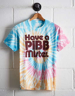 Tailgate Men's Mr. Pibb Tie-Dye Graphic Tee
