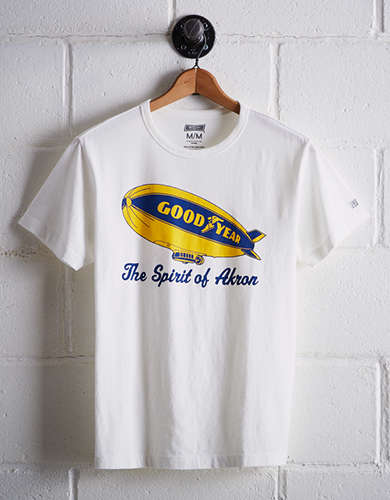 Tailgate Men's Goodyear Blimp T-Shirt - Free Returns
