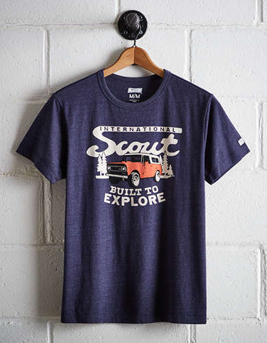 Tailgate Men's International Scout Graphic Tee - Free Returns