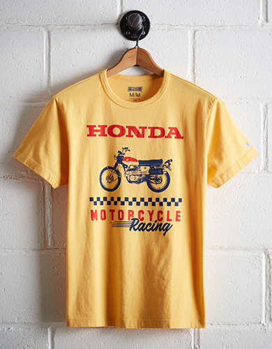 Tailgate Men's Honda Motorcycle Graphic Tee - Free Returns