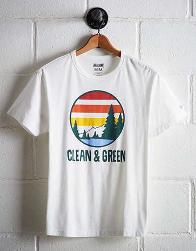 Tailgate Men's Clean & Green Graphic Tee - Free Returns