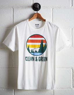 Tailgate Men's Clean & Green Graphic Tee