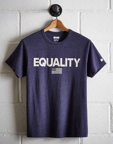 Tailgate Men's Equality T-Shirt - Free Returns