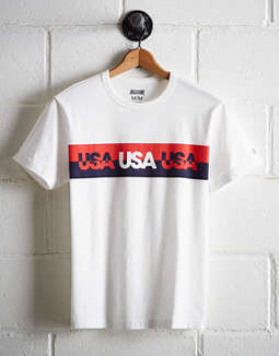 Tailgate Men's USA Stripe T-Shirt