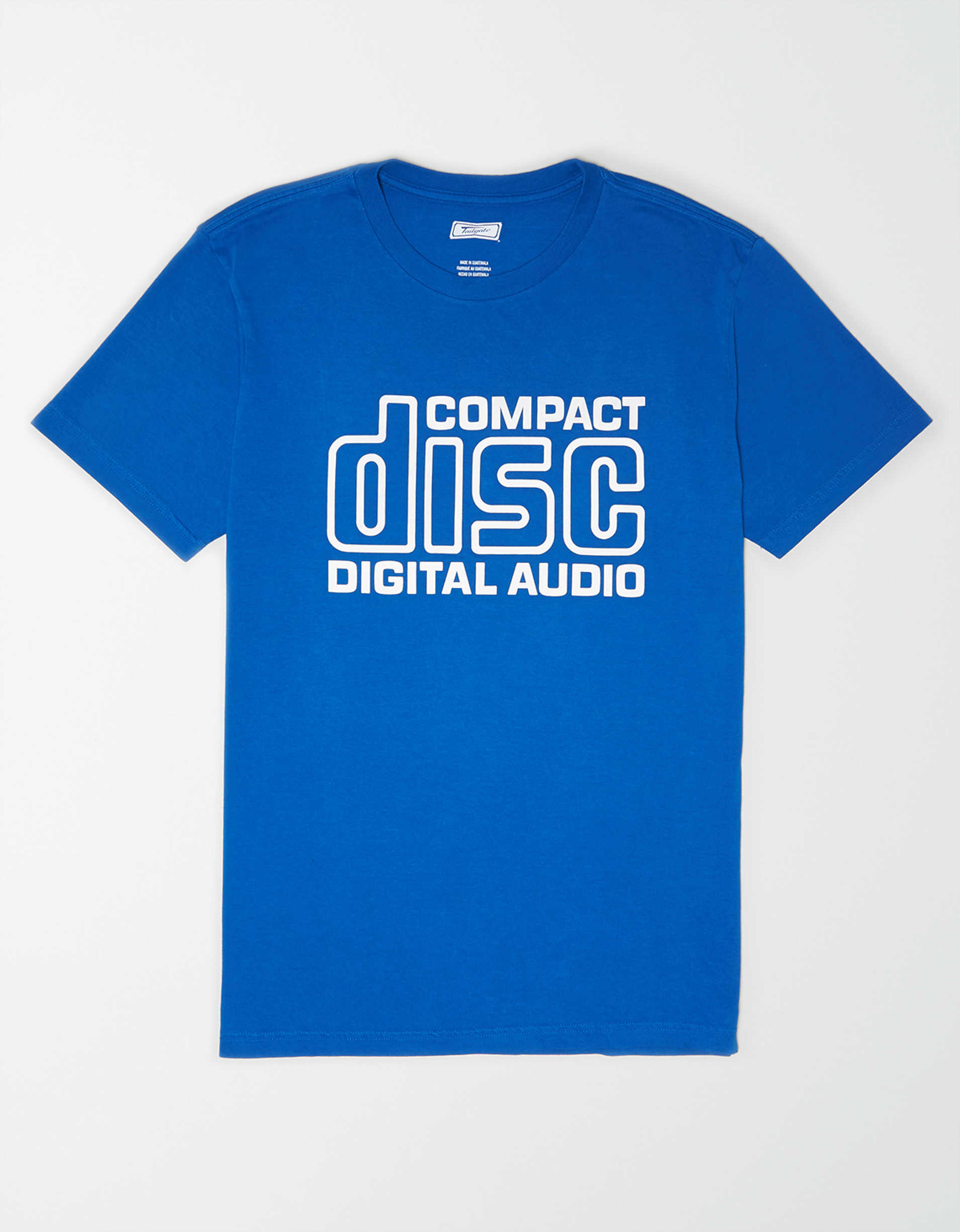 Tailgate Men's Compact Disc T-Shirt