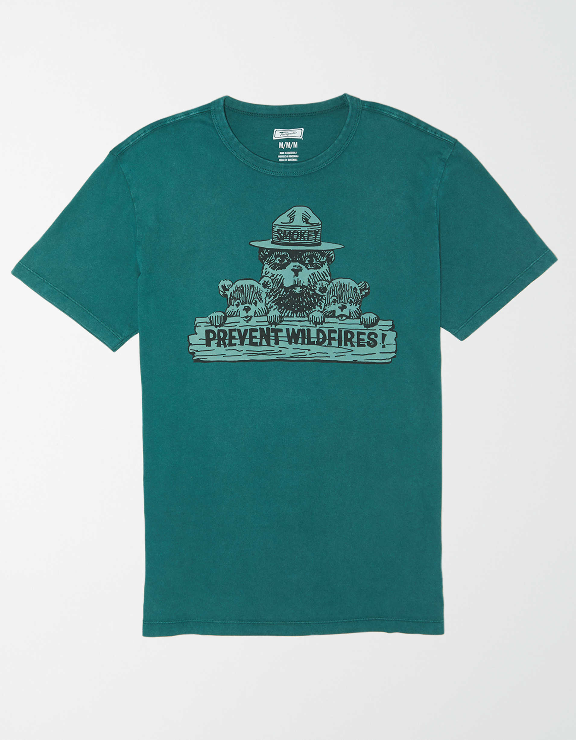 Tailgate Men's Smokey Bear Graphic T-Shirt