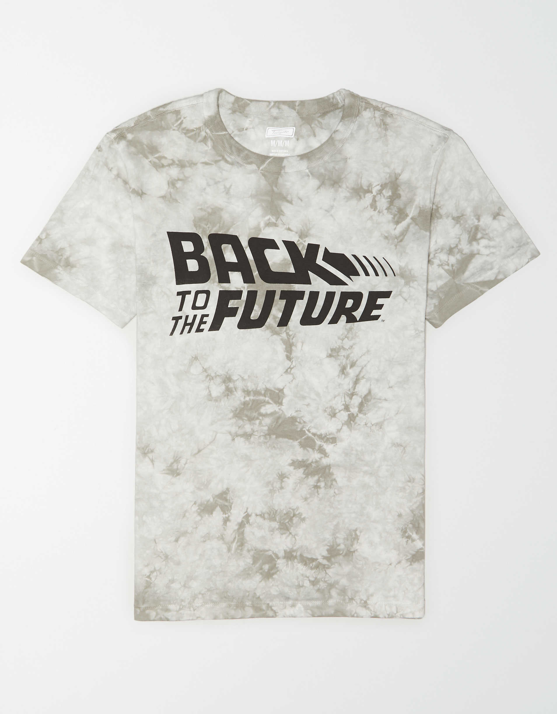 Tailgate Men's Back To The Future Tie-Dye Graphic T-Shirt
