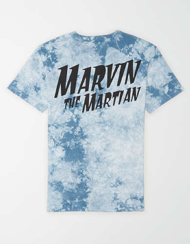 Tailgate Men's Marvin the Martian Tie-Dye T-Shirt