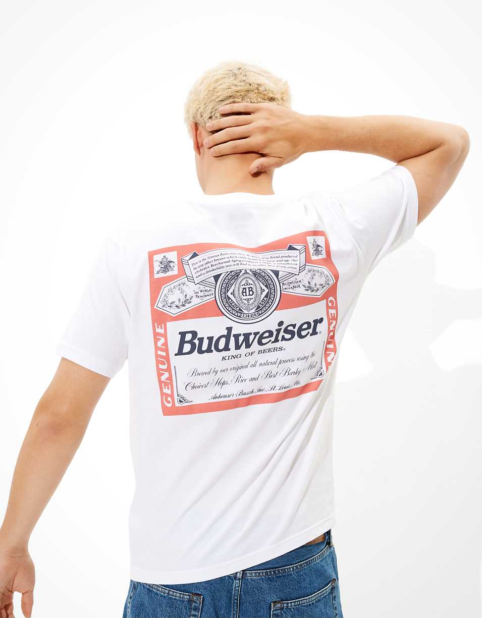 Tailgate Men's Budweiser Graphic T-Shirt