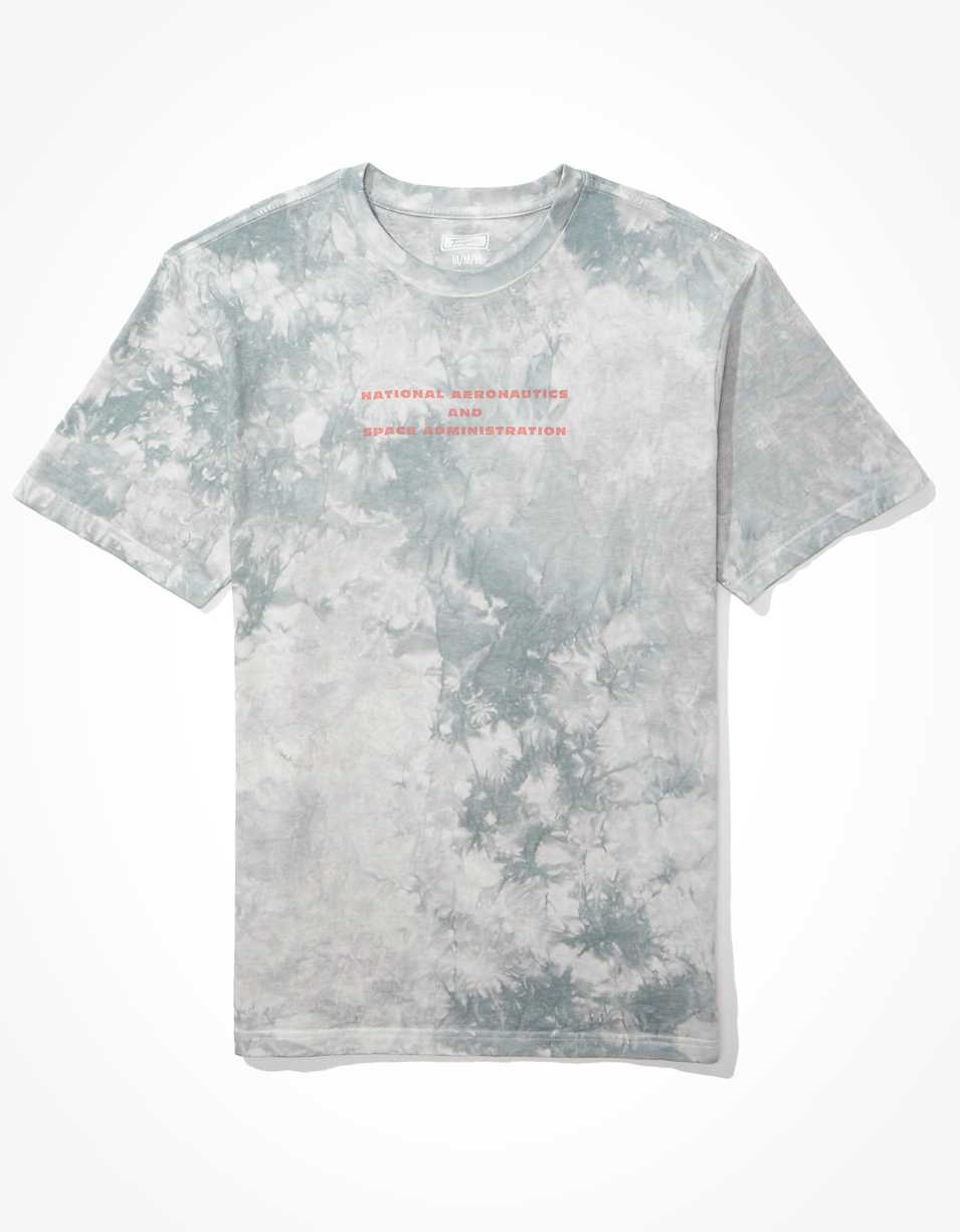 Tailgate Men's Tie Dye NASA T-Shirt