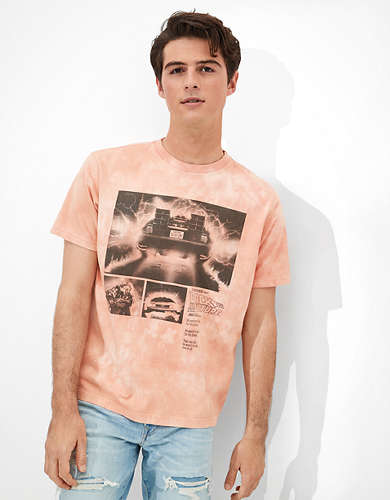 Tailgate Men's Back to the Future Graphic T-Shirt