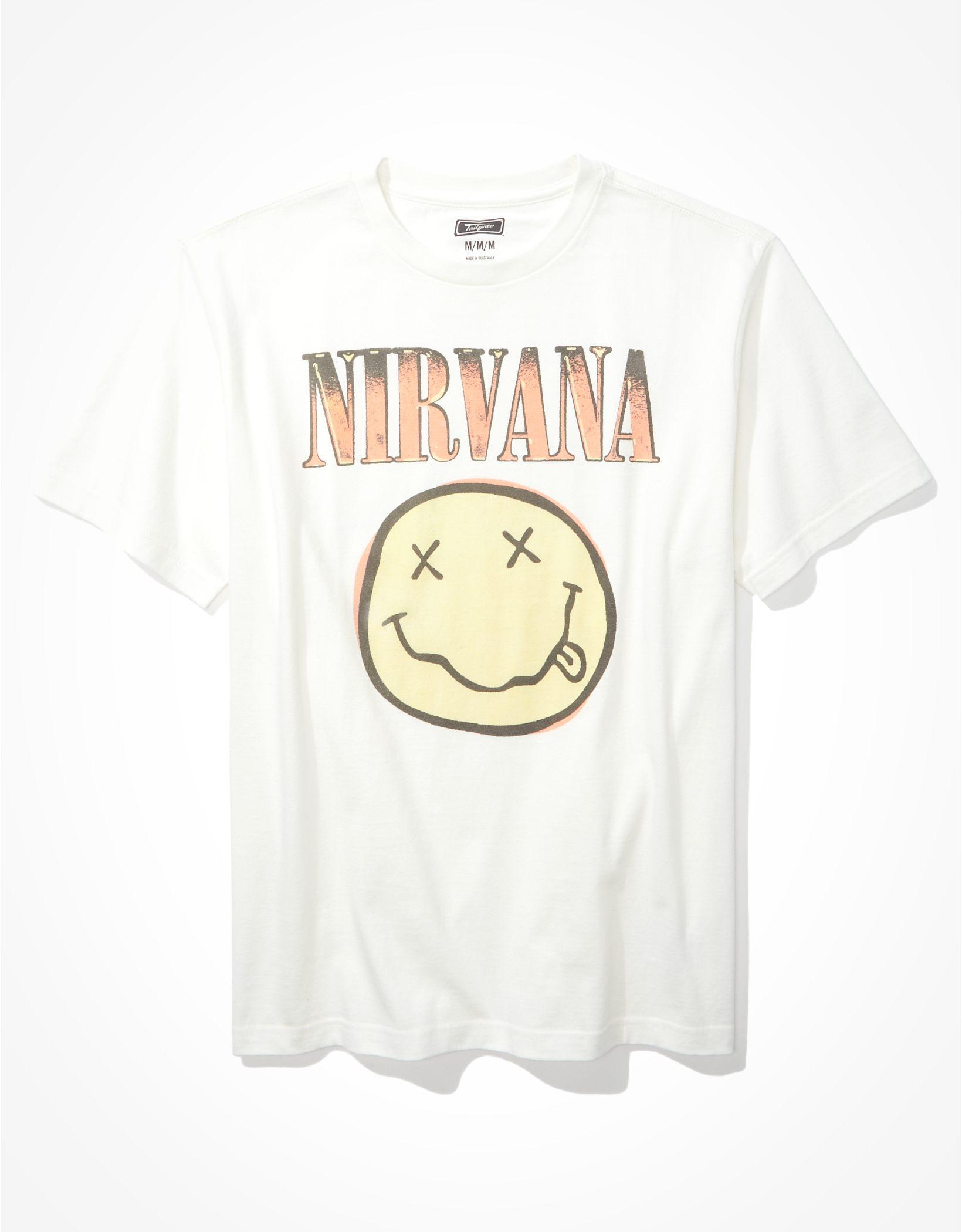 Tailgate Men's Nirvana Graphic T-Shirt