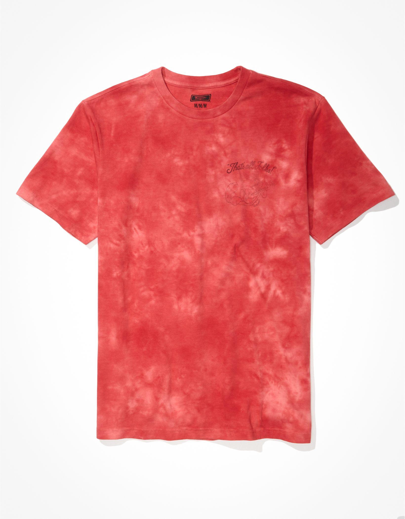 Tailgate Men's Looney Tunes Tie-Dye Graphic T-Shirt