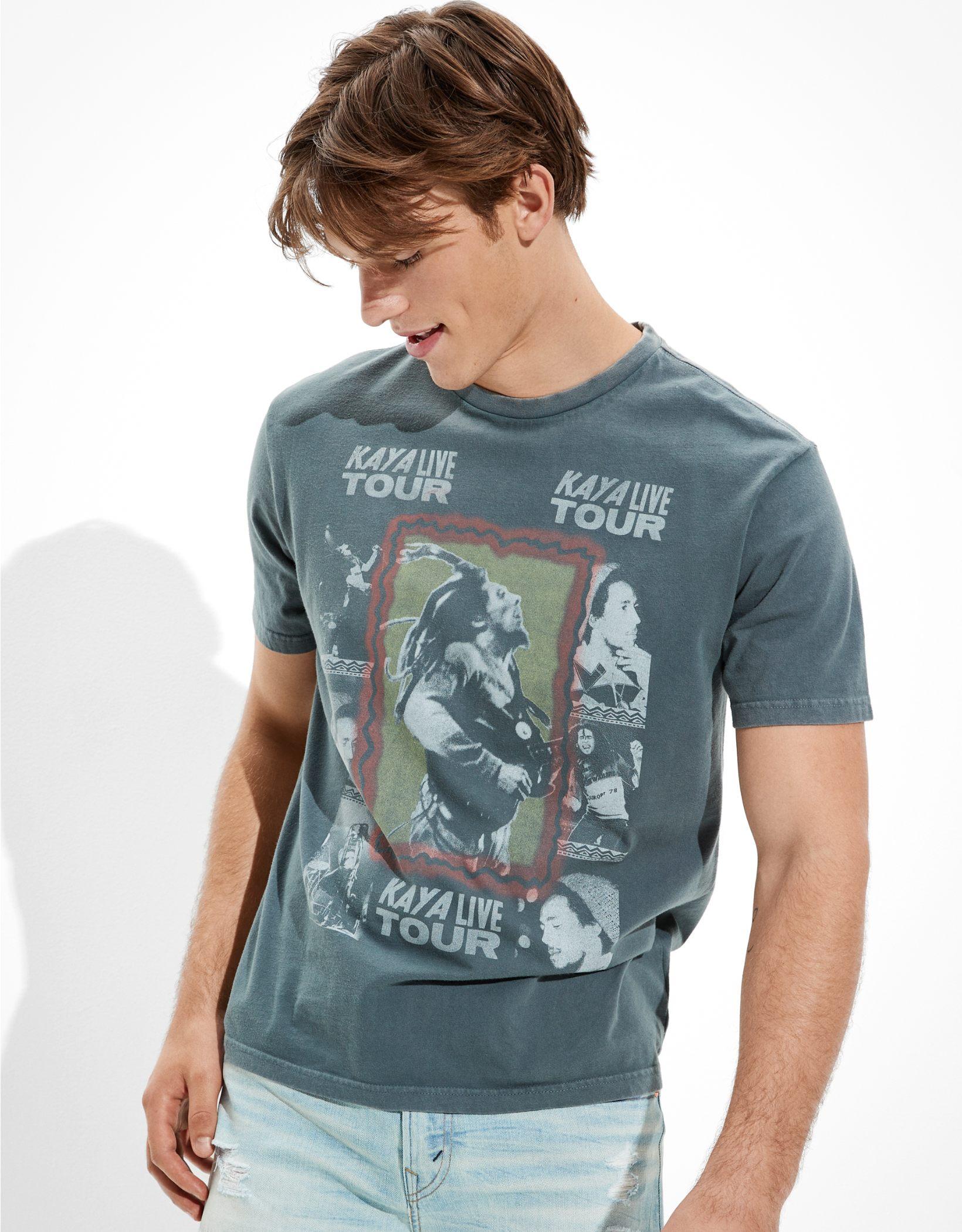 Tailgate Men's Bob Marley Graphic T-Shirt
