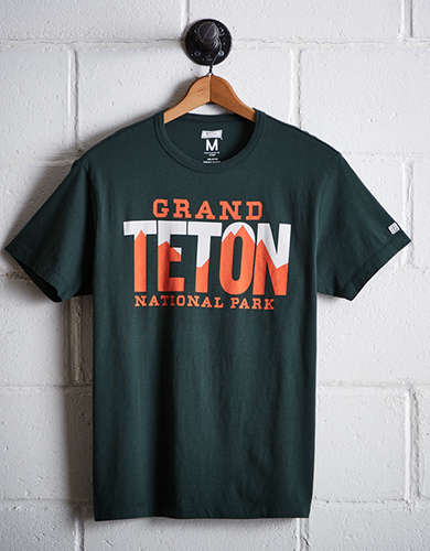 Tailgate Men's Grand Teton National Park T-Shirt - Free Returns