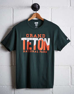 Tailgate Men's Grand Teton National Park T-Shirt