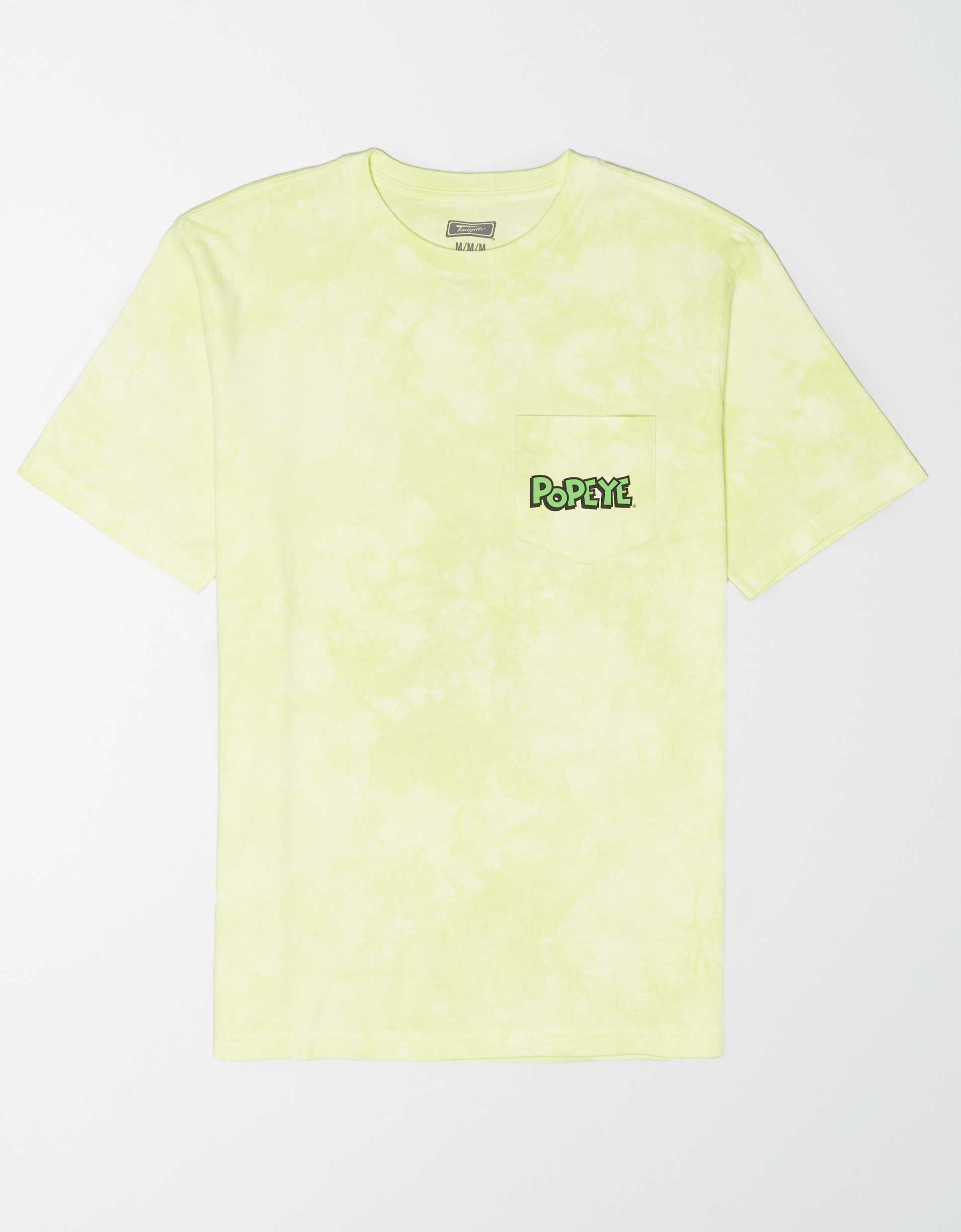 Tailgate Men's Popeye Tie-Dye Pocket T-Shirt