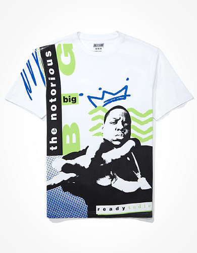 Tailgate Men's Biggie Smalls Graphic T-Shirt