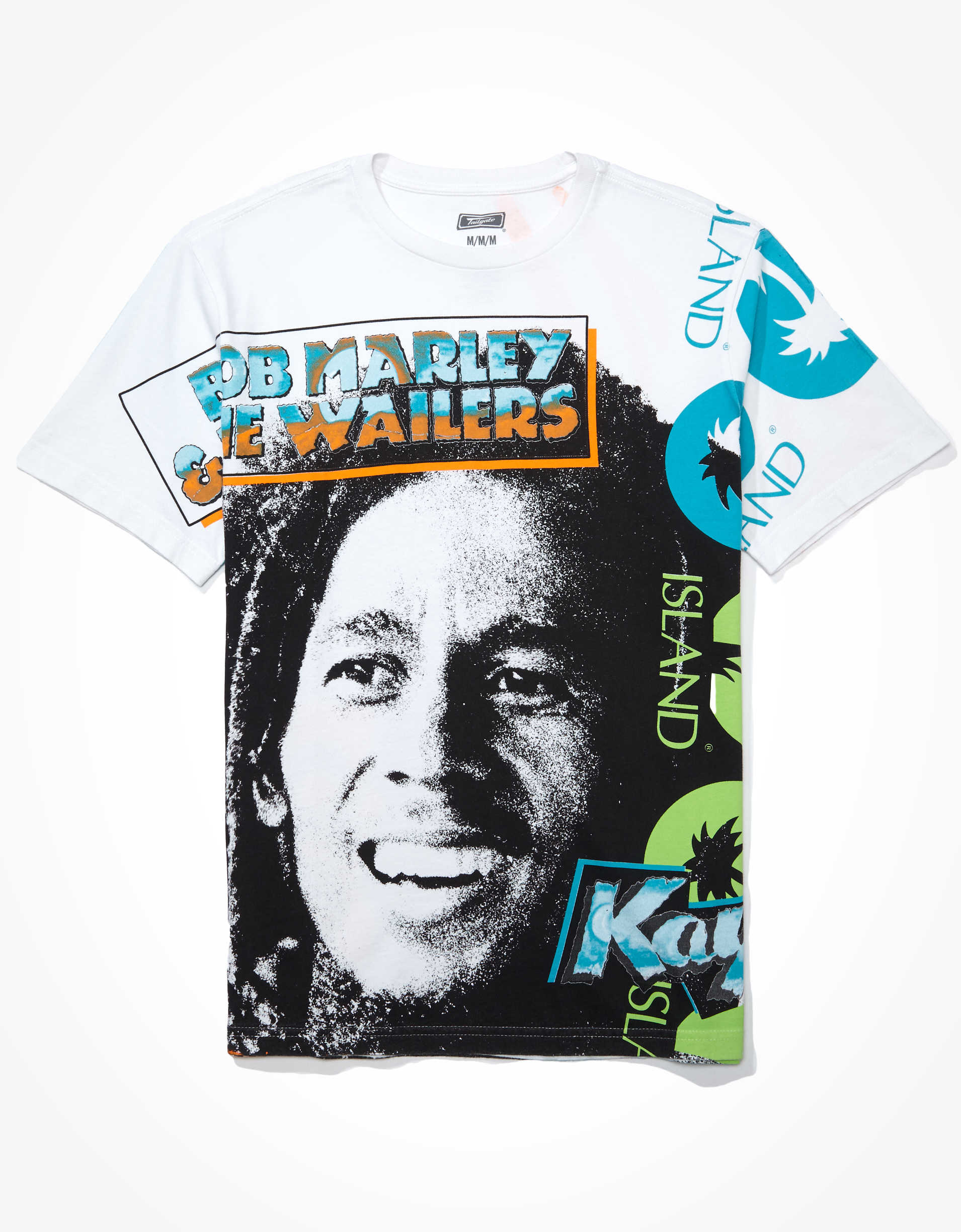 Tailgate Men's Bob Marley Graphic T-Shirt