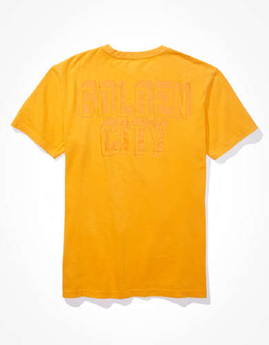 Tailgate Men's SF Giants Dye Effect T-Shirt