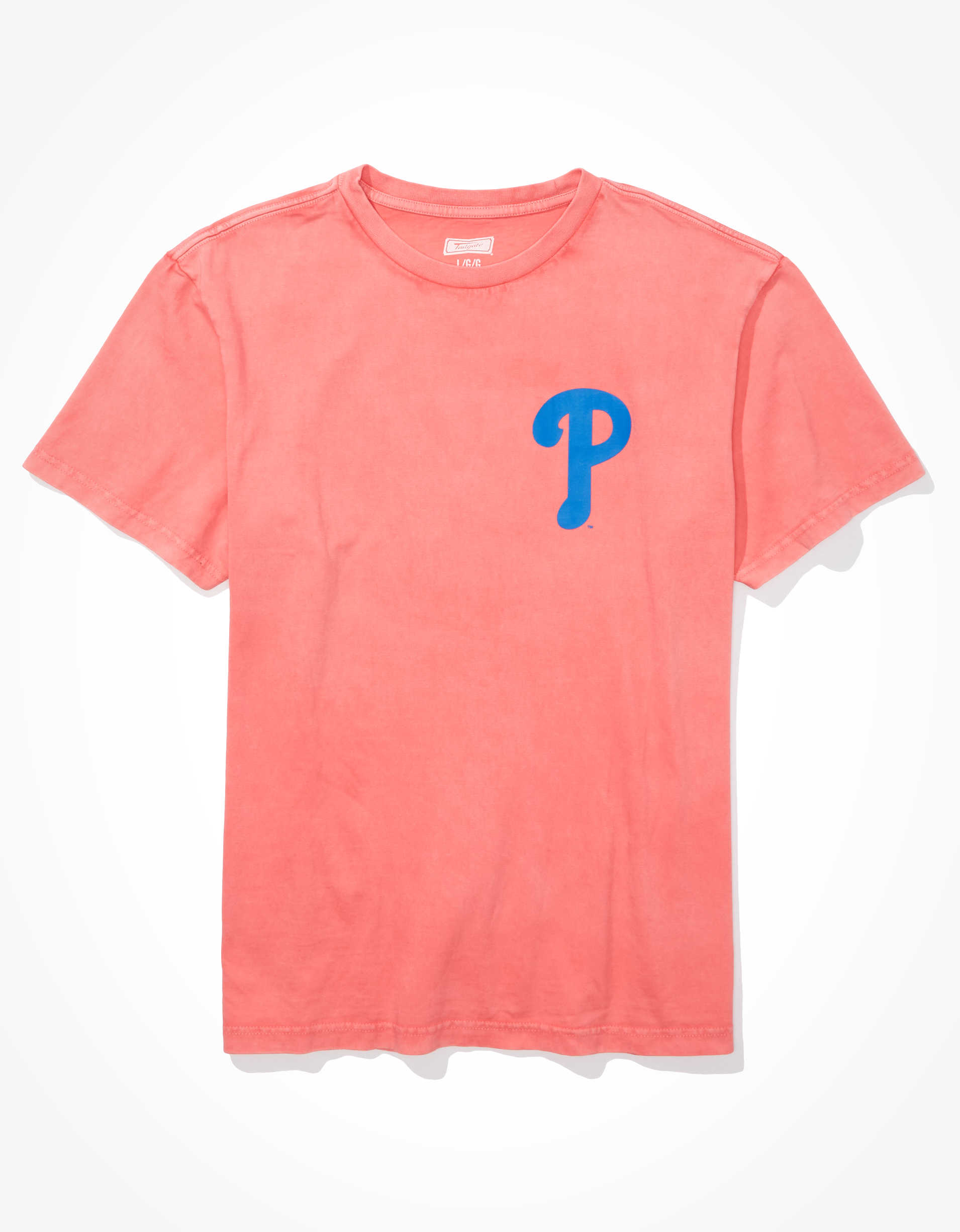 Tailgate Men's Philadelphia Phillies Dye Effect T-Shirt