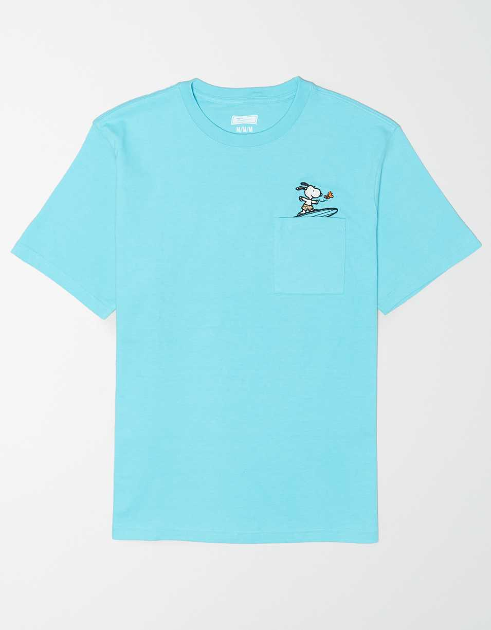 Tailgate Men's Snoopy Pocket T-Shirt