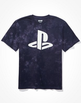 Sony Playstation Officiel Homme T-Shirt Football Fade E-Sports