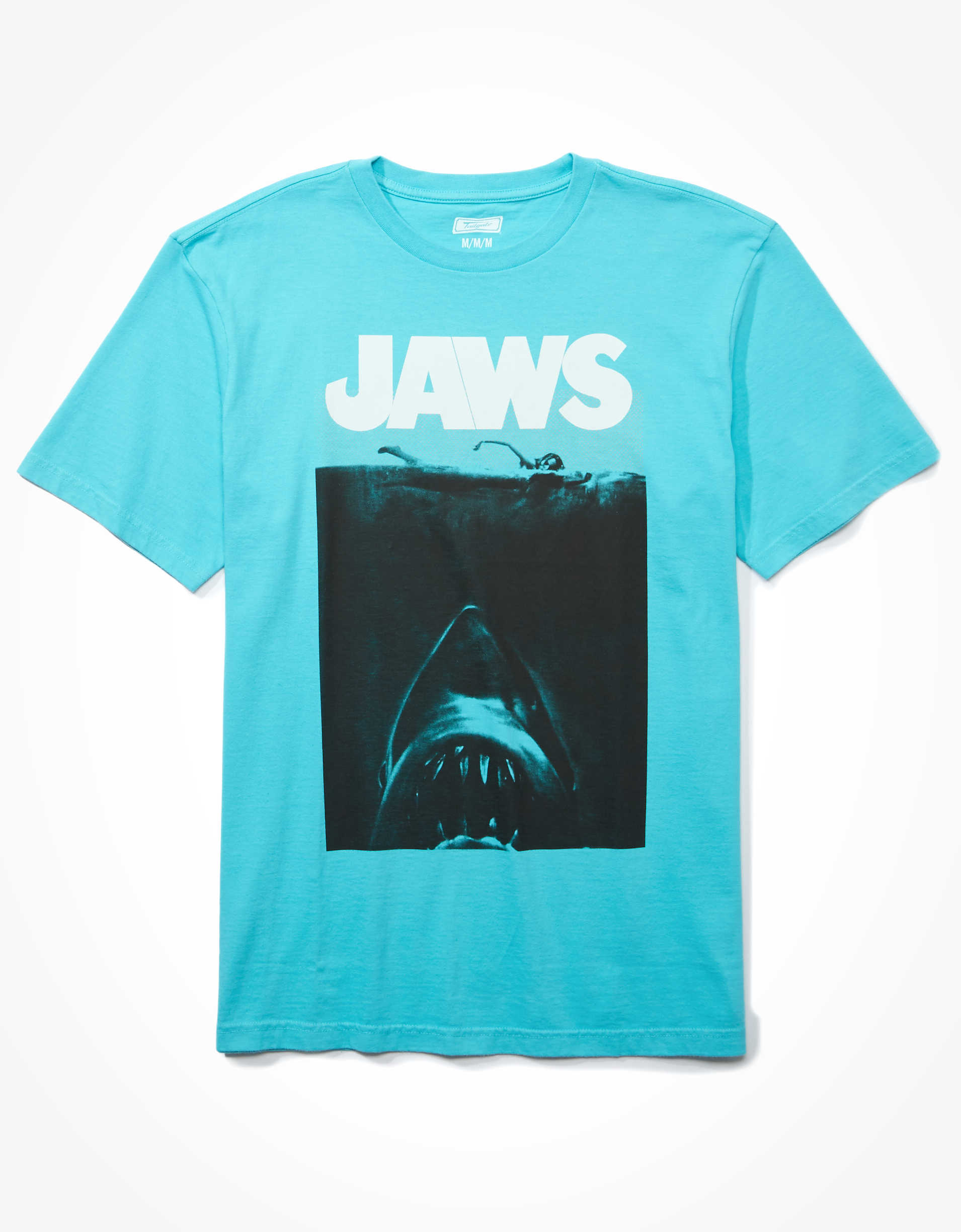 Tailgate Men's Jaws Graphic T-Shirt