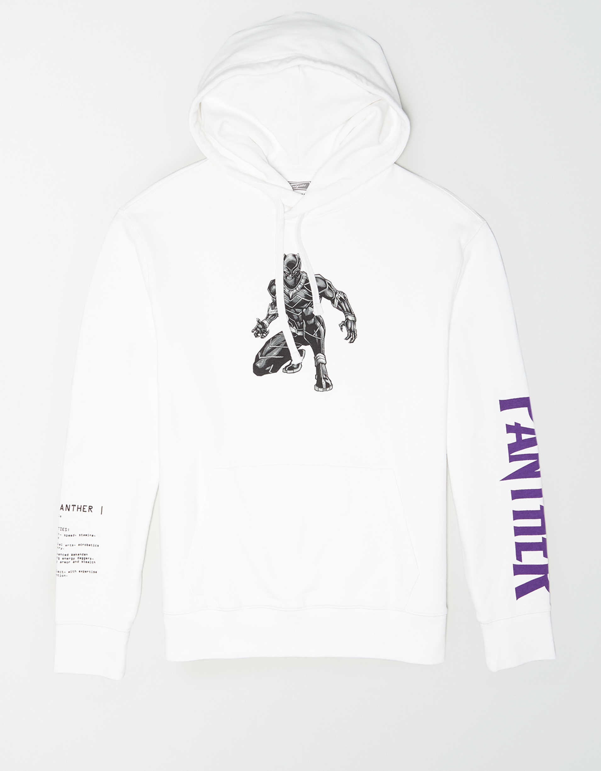 Tailgate Men's Black Panther Pullover Hoodie