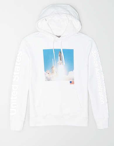 Tailgate Men's NASA Graphic Fleece Hoodie